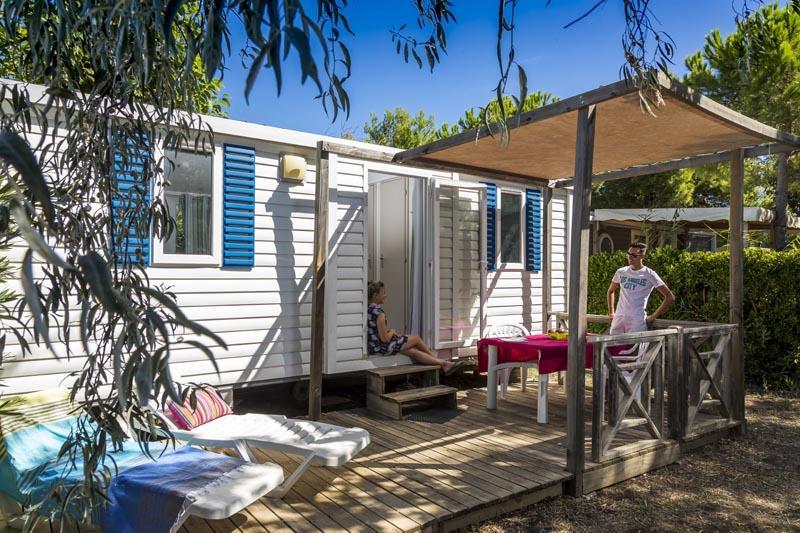 Location - Mobil Home Confort 2 Chambres (Dimanche/Dimanche) - Village Camping Marisol