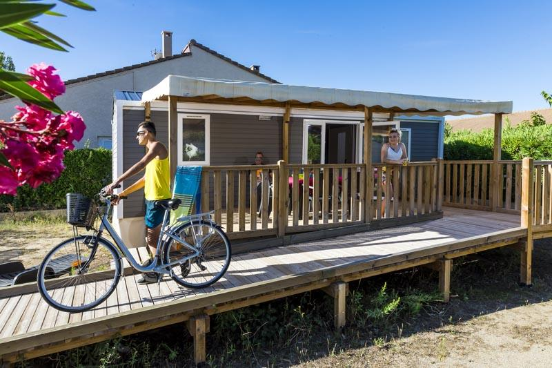 Location - Cottage Confort Plus Pmr 2 Chambres - Village Camping Marisol