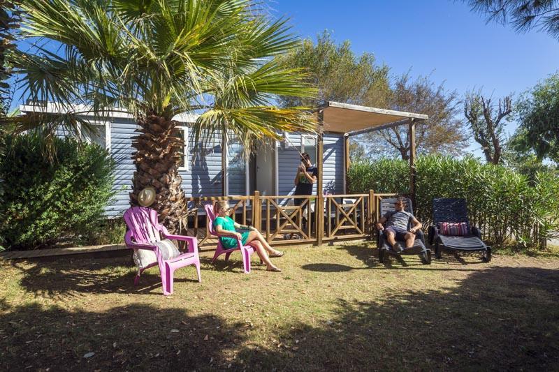 Location - Cottage Confort Plus 3 Chambres (Dimanche/Dimanche) - Village Camping Marisol