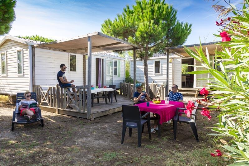 Location - Tribu Confort Plus 4 Chambres (Dimanche/Dimanche) - Village Camping Marisol