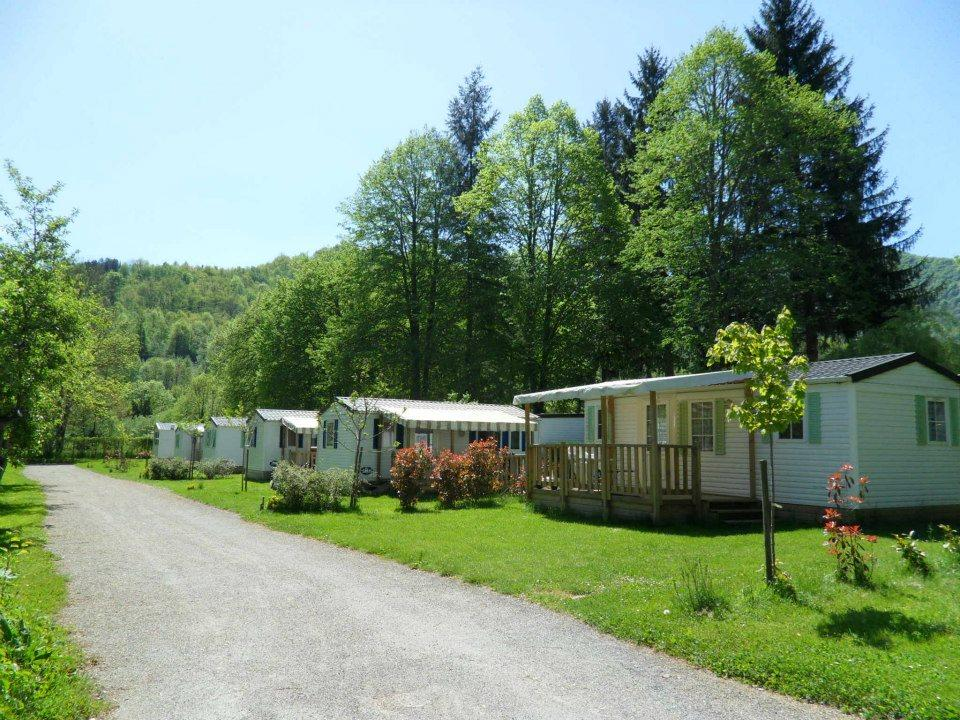 Camping le Haut Salat, Seix, Ariège