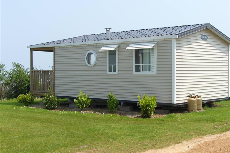 Location - Mobile Home Panoramique 26M² Vue Mer + Terrasse Couverte - Camping Le Varquez-sur-Mer