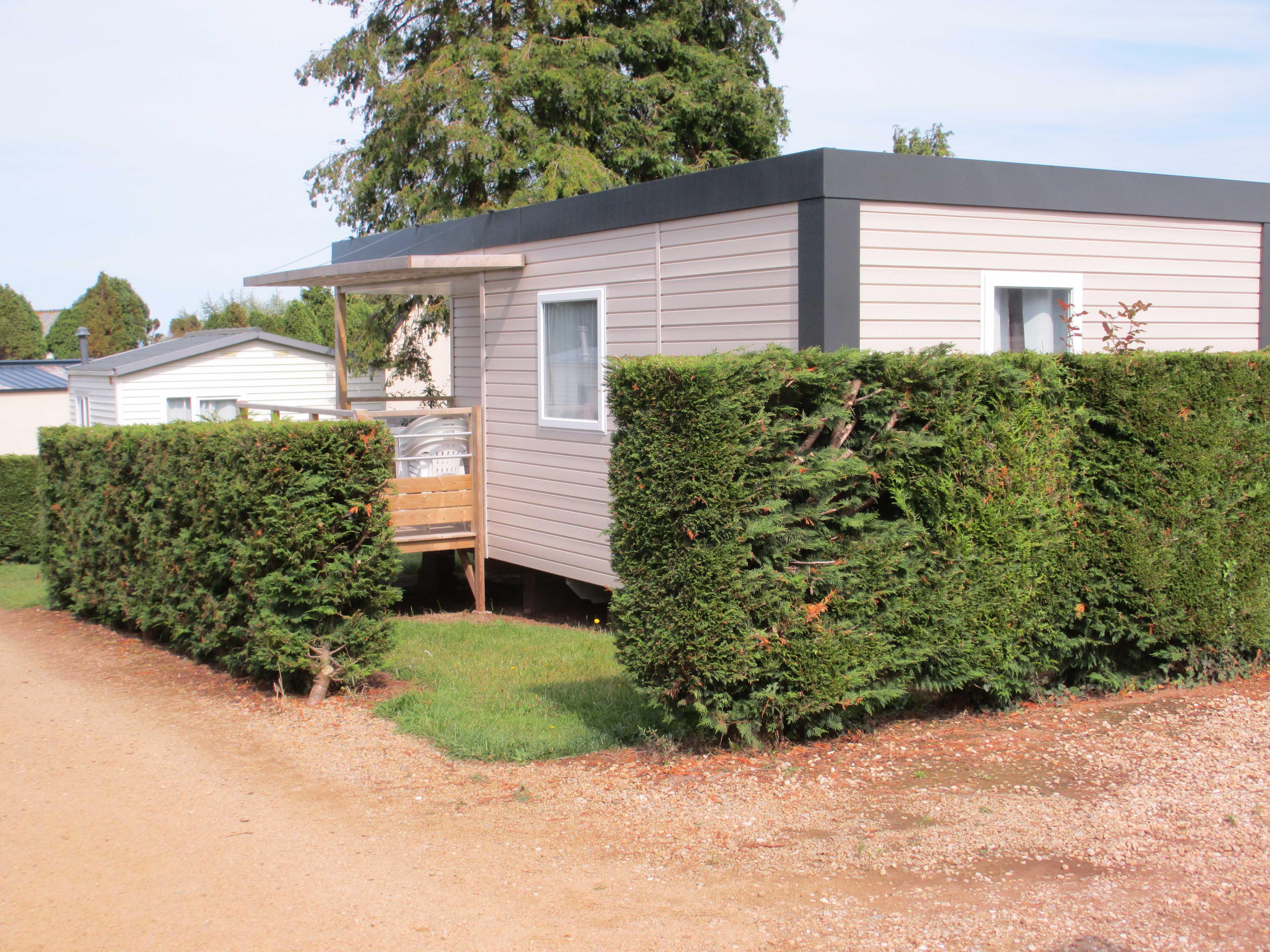 Location - Mobil-Home 2 Chambres 27M² + Terrasse 8M² Semi Couverte - Camping Le Varquez-sur-Mer