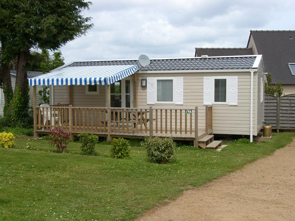 Location - Mobil Home  4/6 Places 33M² Avec Dressing + Terrasse - Camping Le Varquez-sur-Mer
