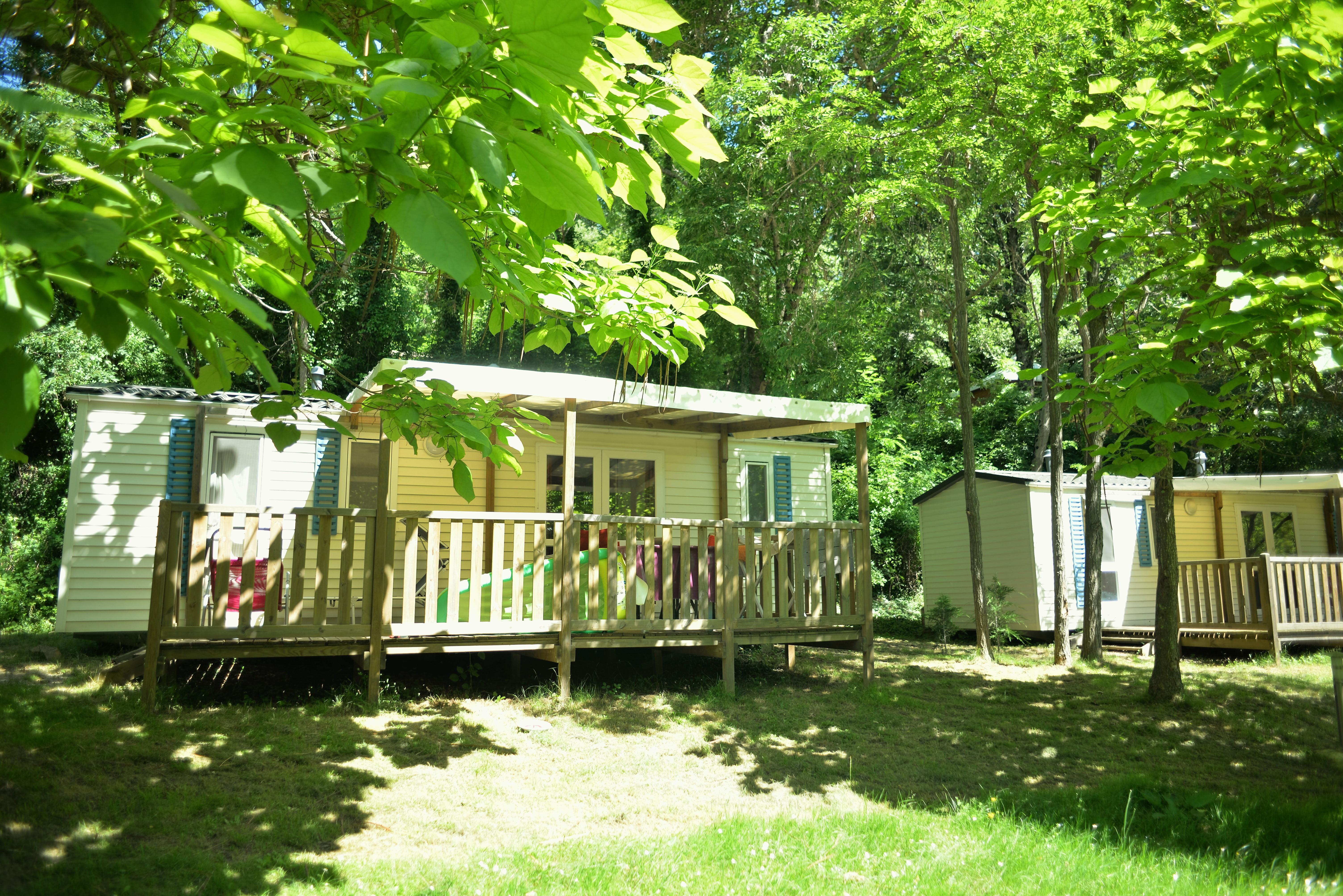 Camping Coeur d'Ardèche, Saint-Vincent-de-Durfort, Ardèche