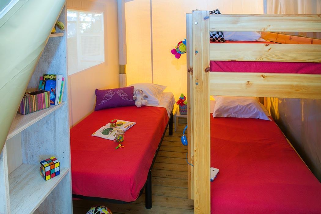 Location - Tente Ecolodge 2 Chambres - T5l2 - Vacanceselect Village Center Le Coteau de La Marine