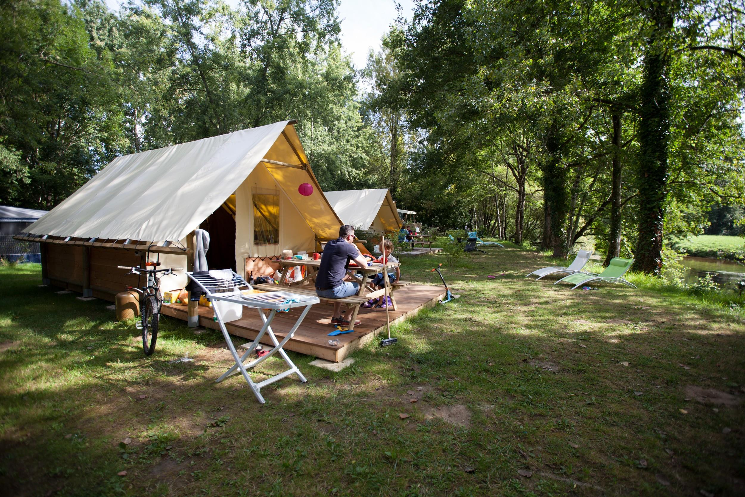 Camping Brantôme Peyrelevade, Brantôme, Dordogne