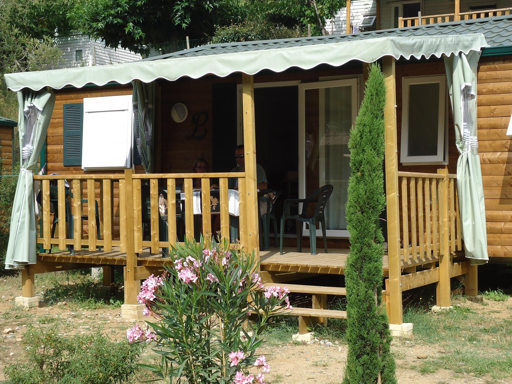 Accommodation - Mobile-Home 3 Bedrooms 47M² - Sheltered Terrace - Eyrieux Camping