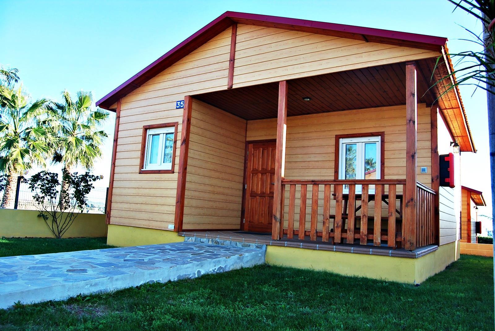 Location - Bungalow Comfort - Camping La Rosaleda
