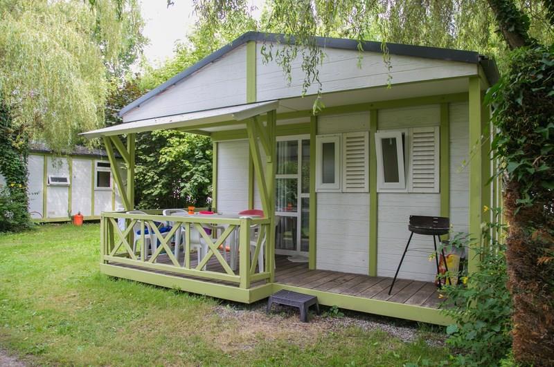 Location - Chalet Club - 35M² - 2 Chambres - Terrasse Couverte - - Camping de la Plage
