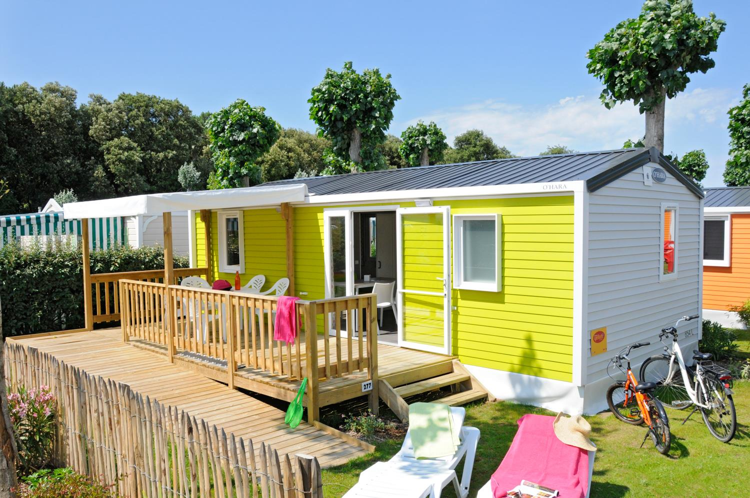 Location - Cottage Pmr Colors *** 2 Chambres - Camping Sandaya Le Littoral