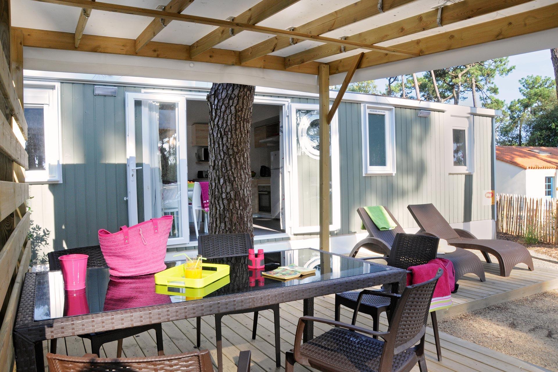 Location - Cottage Premium 3 Chambres - 2 Salles De Bain - Camping Sandaya Le Littoral