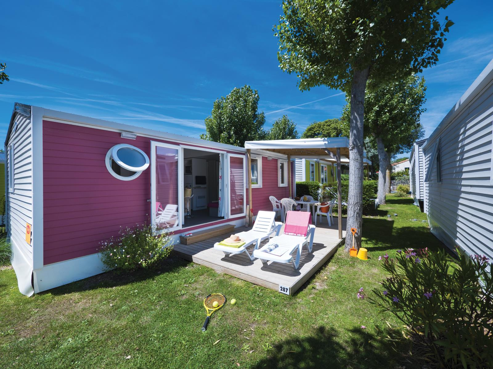 Location - Cottage *** 3 Chambres Quartier Colors - Camping Sandaya Le Littoral