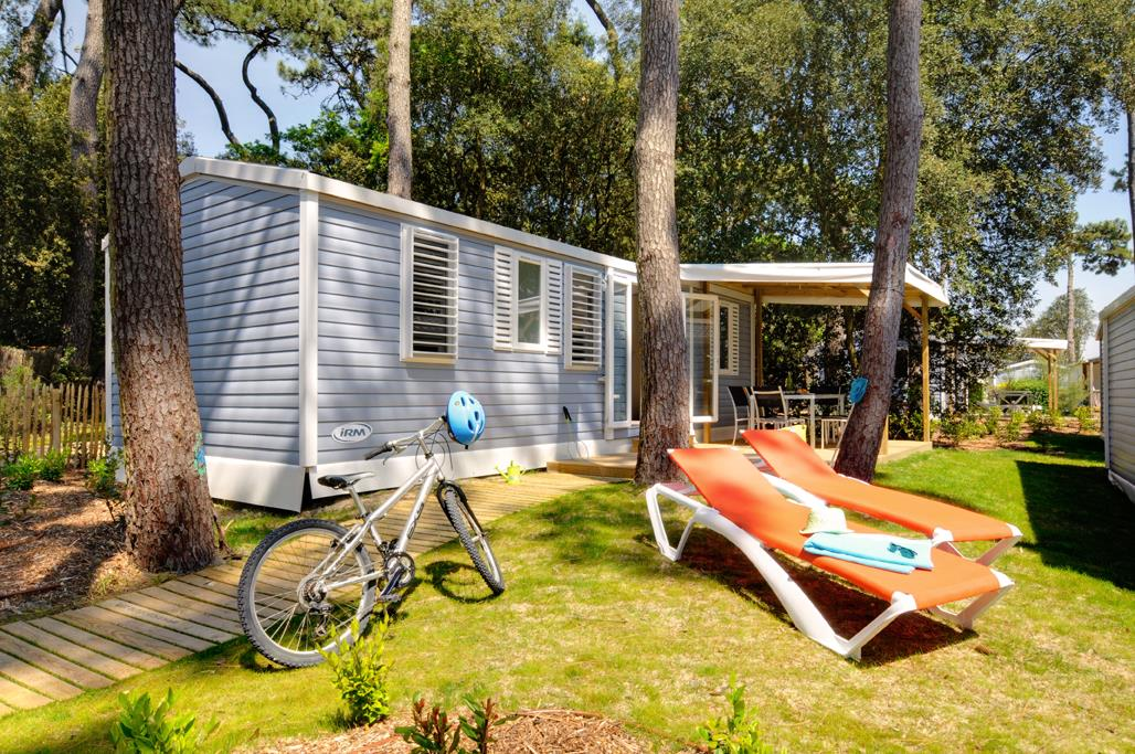 Location - Cottage Les Pins 3 Chambres **** - Camping Sandaya Le Littoral