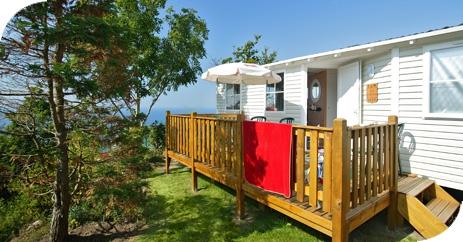 Location - Cottage 3 Chambres - 1 Salle De Bain. Dimanche - Camping L'Anse du Brick