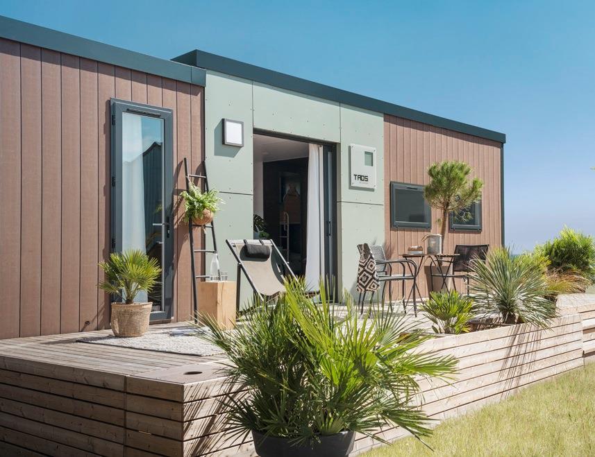 Location - Cottage Taos - 40M² - 3 Chambres - 2 Salles De Bain. Samedi - Camping L'Anse du Brick
