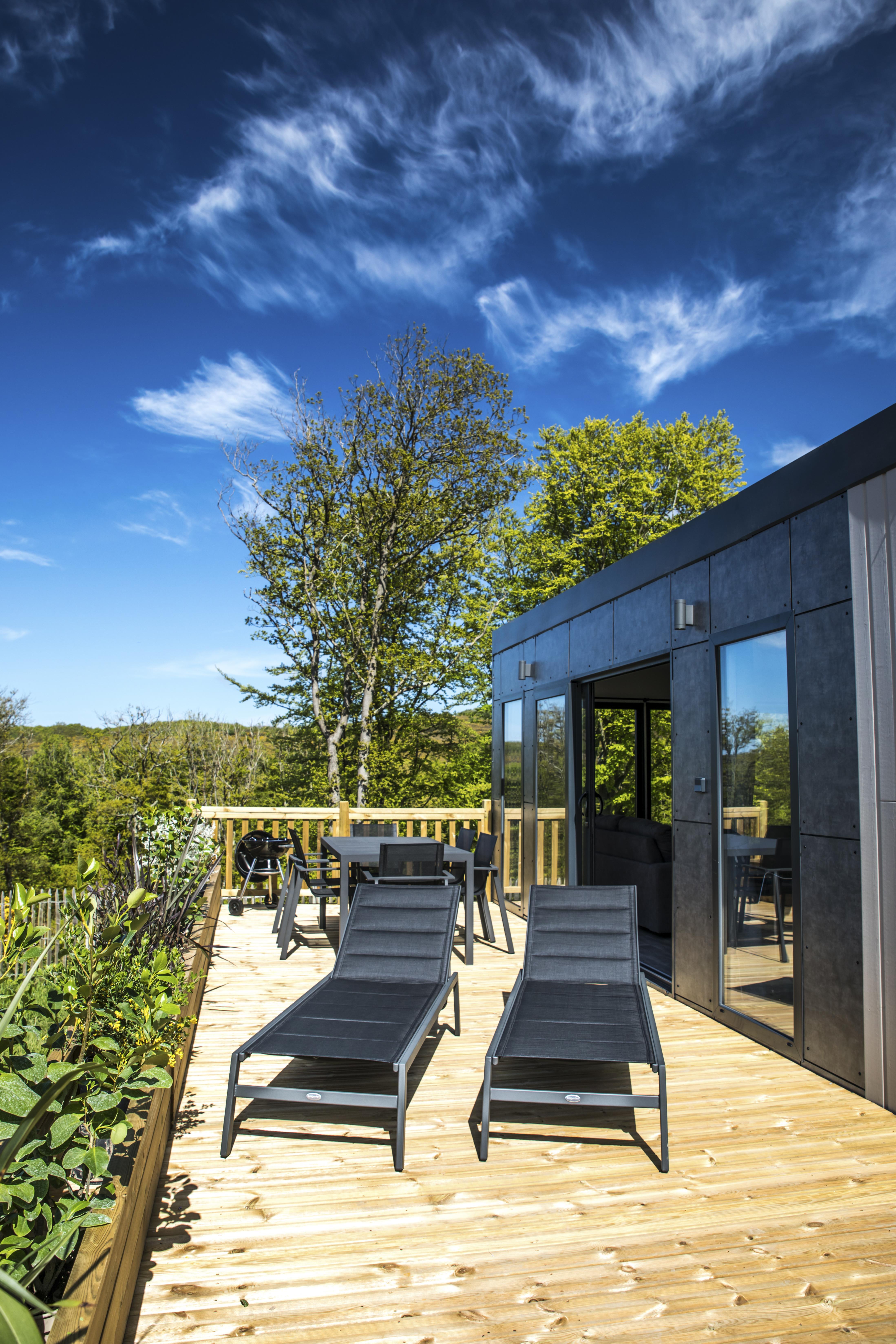 Location - Cottage Premium - 39M² -  2 Chambres - 1 Salle De Bain. Samedi - Camping L'Anse du Brick