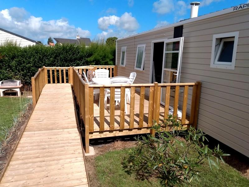Access Mobile Home - 2 Bedrooms - Lodge For Disabled People - 33M² + Terrace