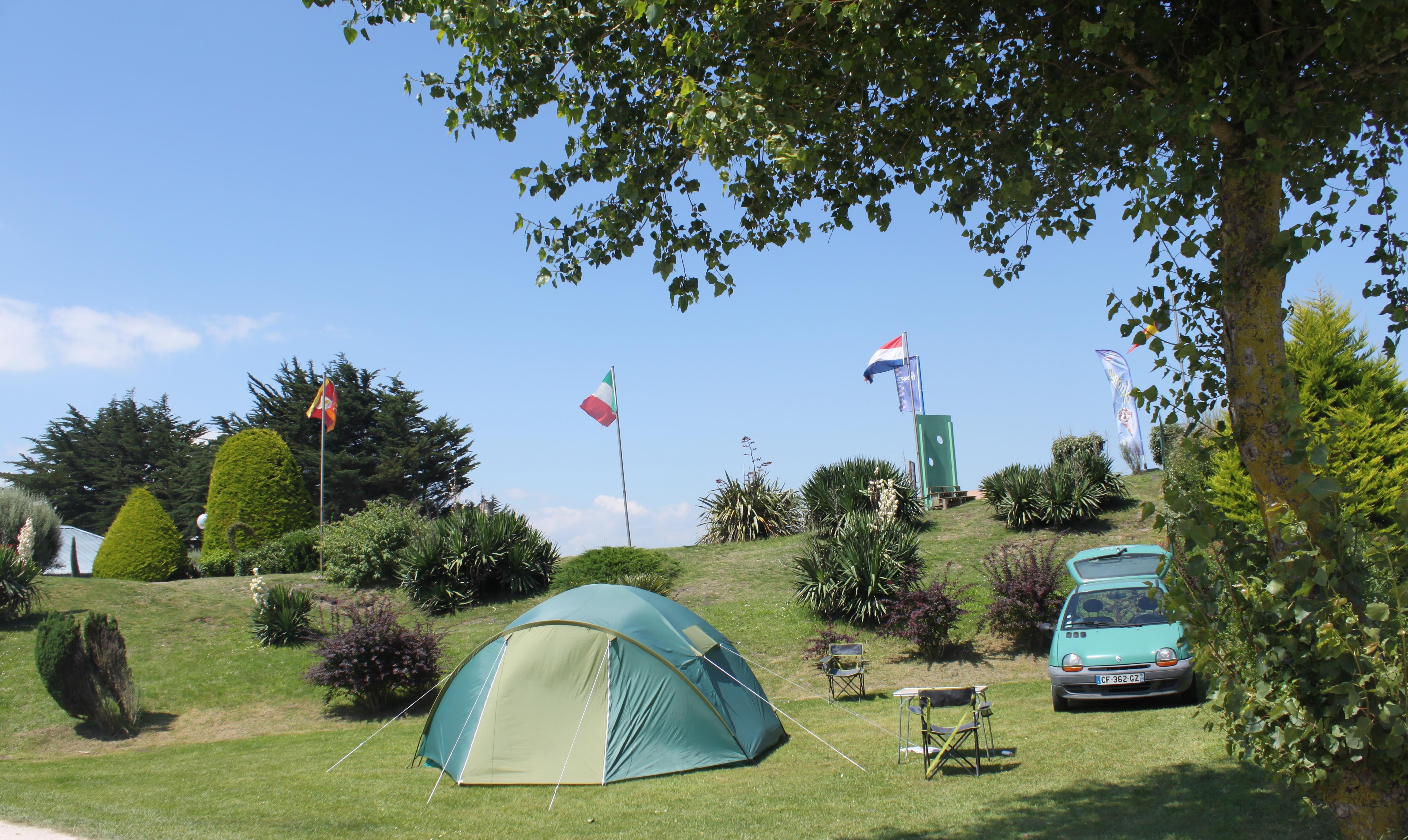Camping Utah Beach, Sainte-Marie-du-Mont, Manche