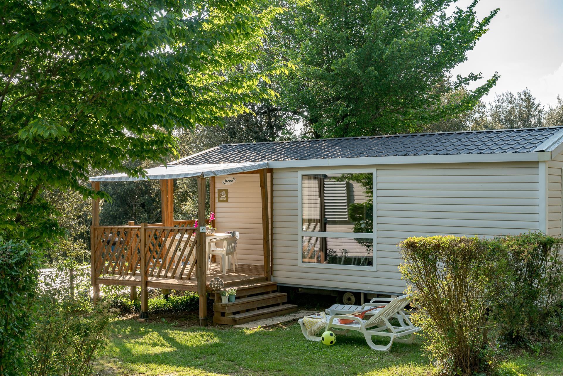 Location - Cottage 2 Chambres ** - Camping Sandaya Les Péneyrals