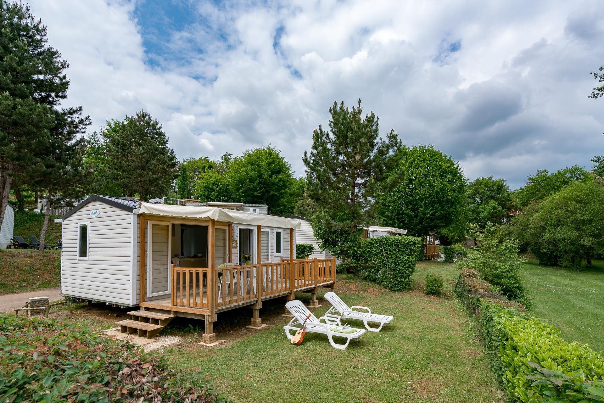 Location - Cottage Riviera 2 Chambres *** - Camping Sandaya Les Péneyrals