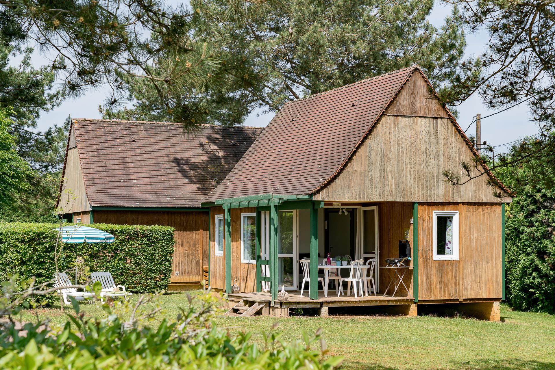 Location - Chalet Reve 2 Chambres *** - Camping Sandaya Les Péneyrals