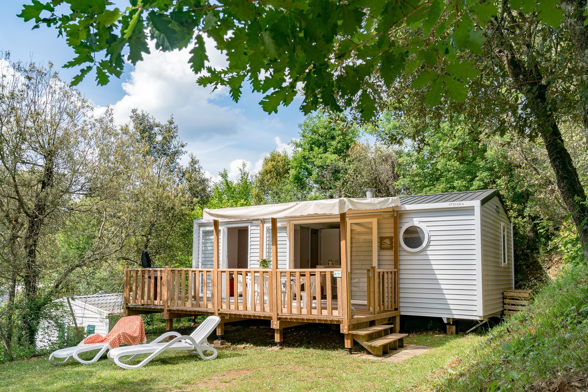 Location - Cottage Ellione 2 Chambres Clim *** - Camping Sandaya Les Péneyrals