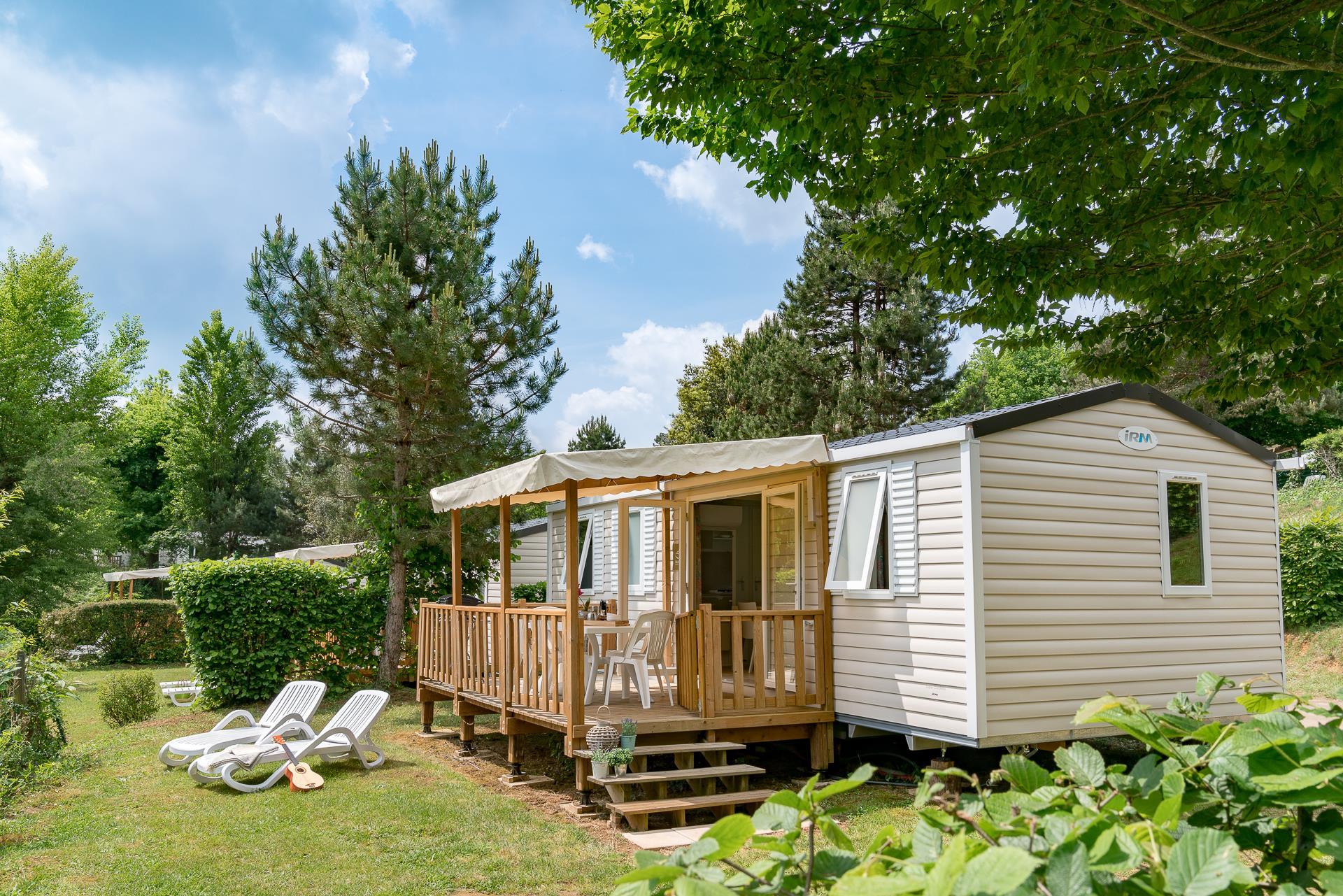 Location - Cottage Cordelia 3 Chambres Clim *** - Camping Sandaya Les Péneyrals