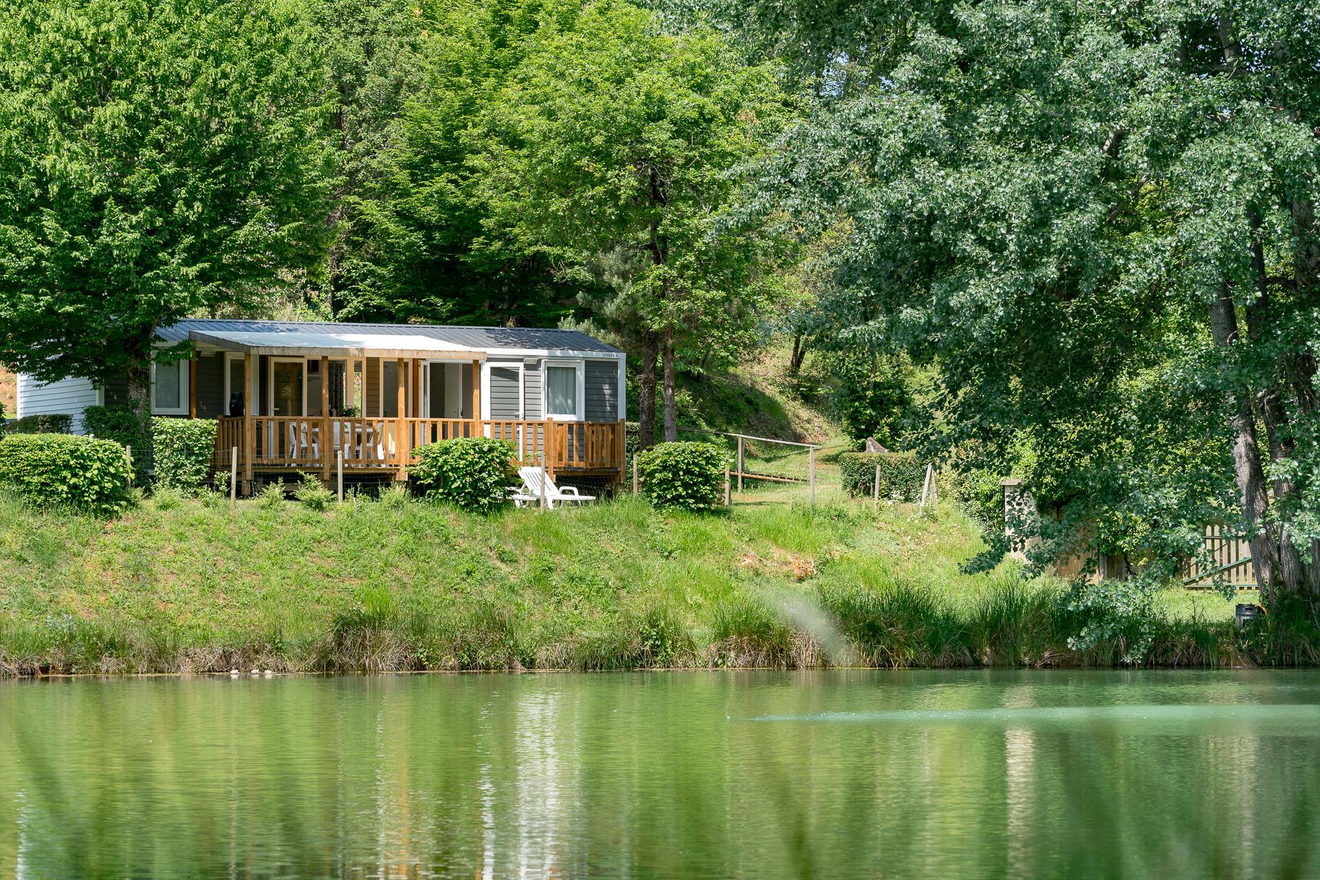 Location - Cottage 3 Chambres  2 Salles De Bain Clim **** - Camping Sandaya Les Péneyrals