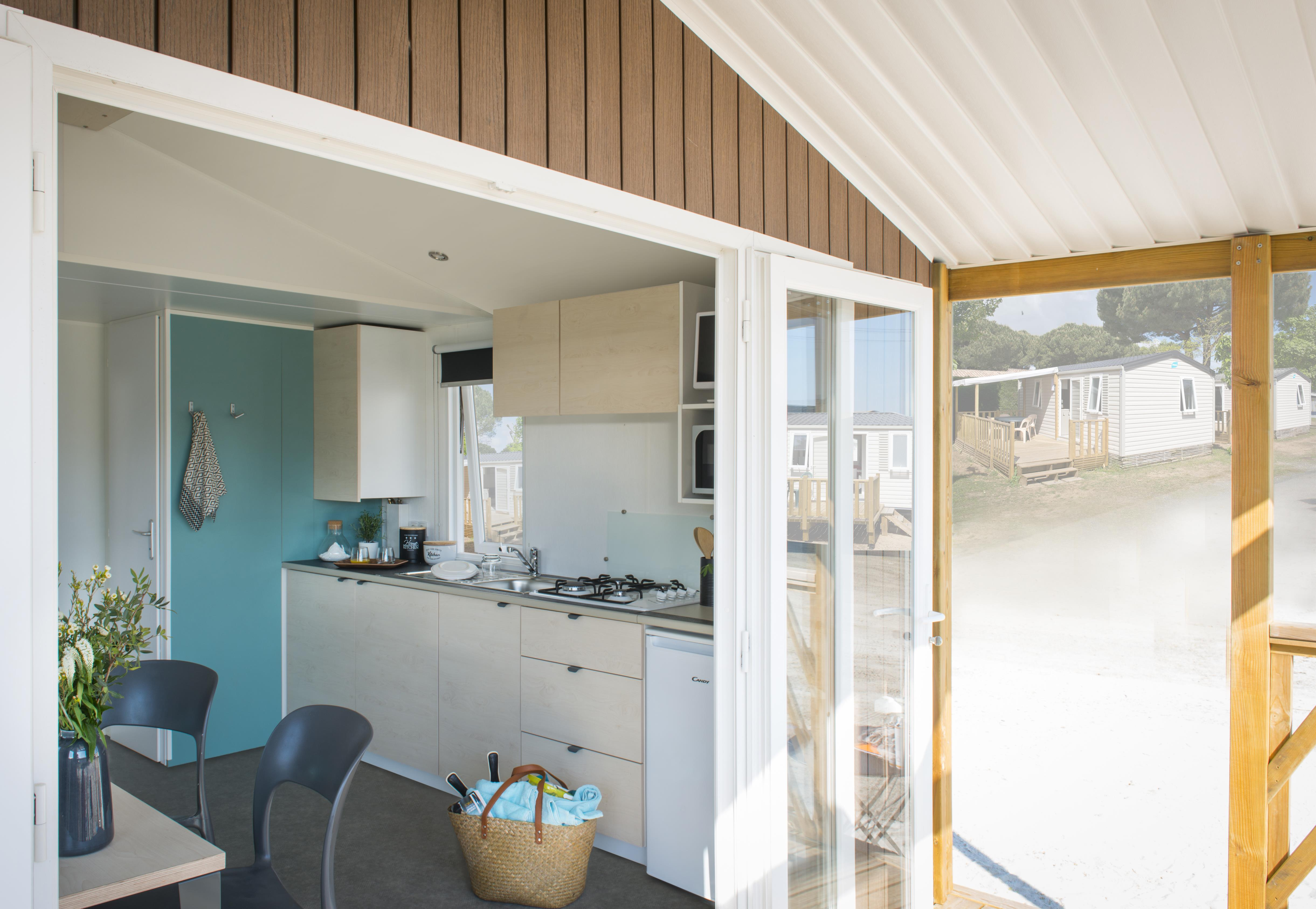 Location - Loggia Bay, 2 Chambres - Camping Les Charmes