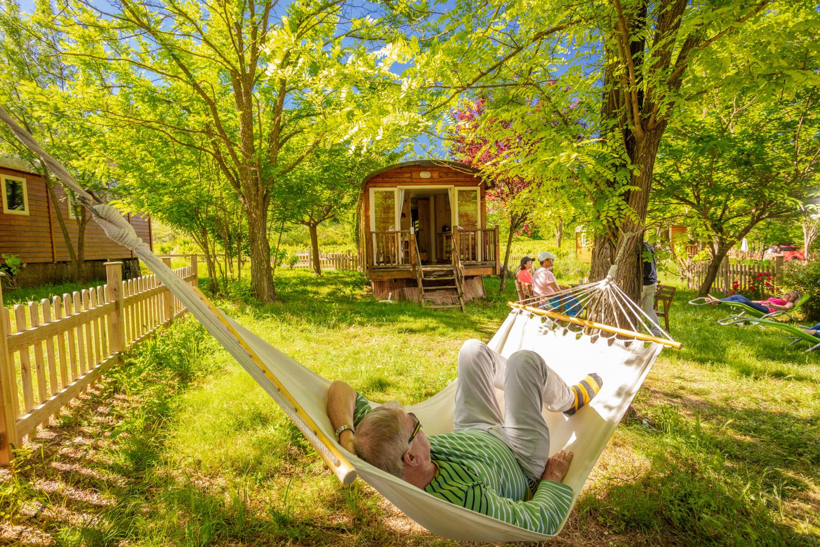 Camping Domaine d'Anglas, Brissac, Hérault