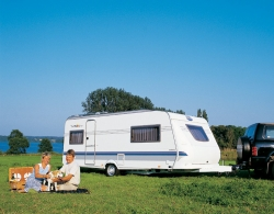 Emplacement - Emplacement Caravane   Auto - Campingpark LuxOase
