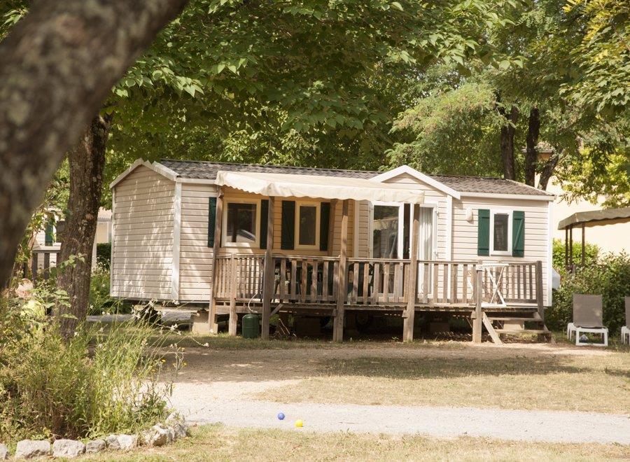 Location - Mobil Home – Type 6Lbv+ Acacia - 3 Chambres - RCN Vakantiepark La Bastide en Ardèche