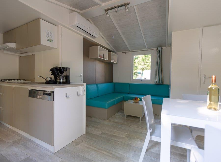 Location - Mobil Home - Type Olivier - 3 Chambres - RCN Vakantiepark La Bastide en Ardèche
