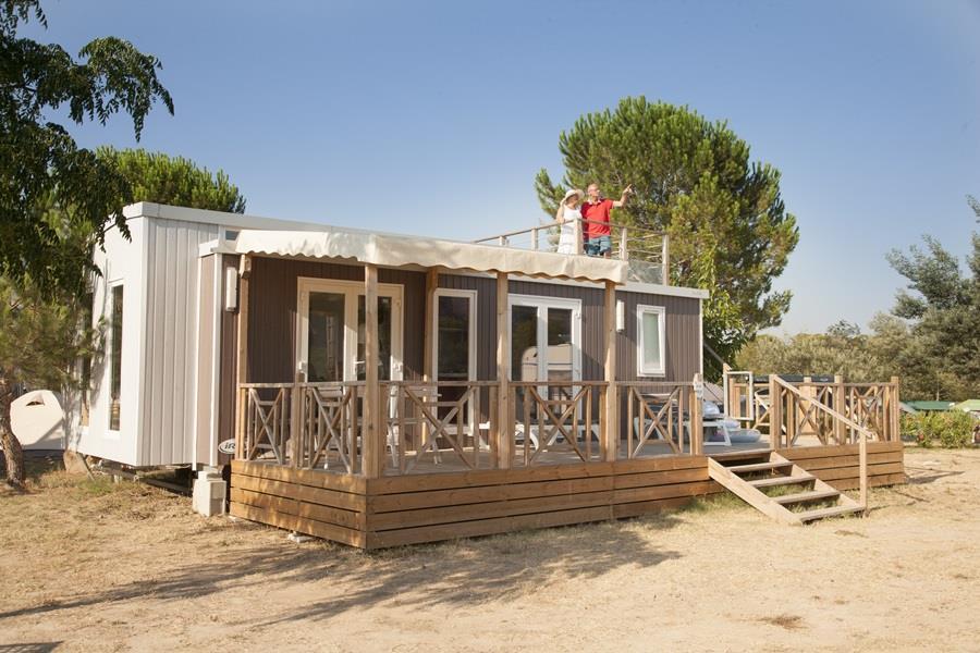 Location - Mobil Home – St. Tropez - RCN Vakantiepark Domaine de la Noguière