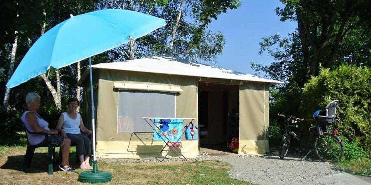 Location - Tente Équipée (Sans Sanitaires Ni Chauffage) - Camping des Halles