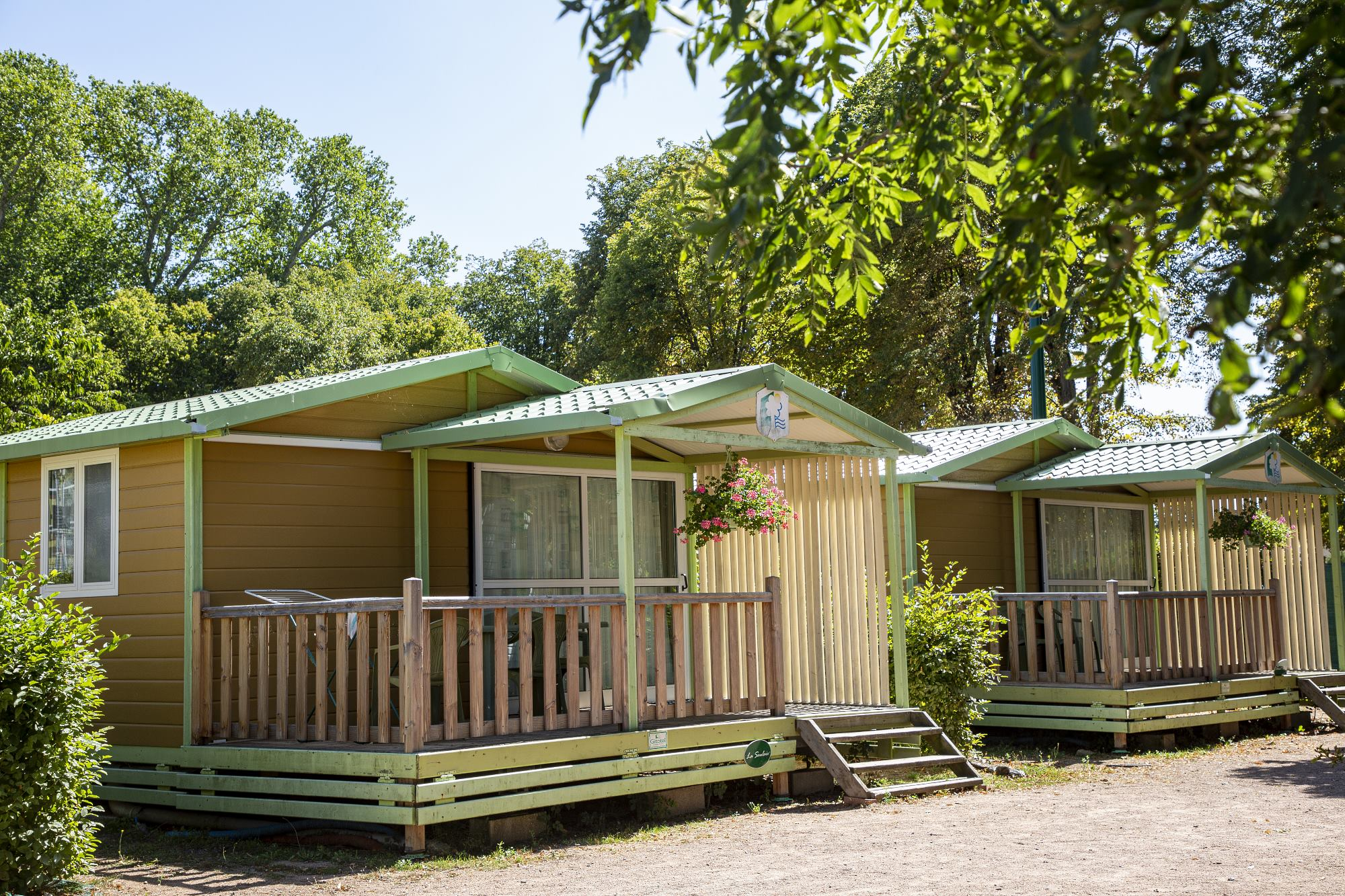 Location - Chalet Confort - Camping des Halles