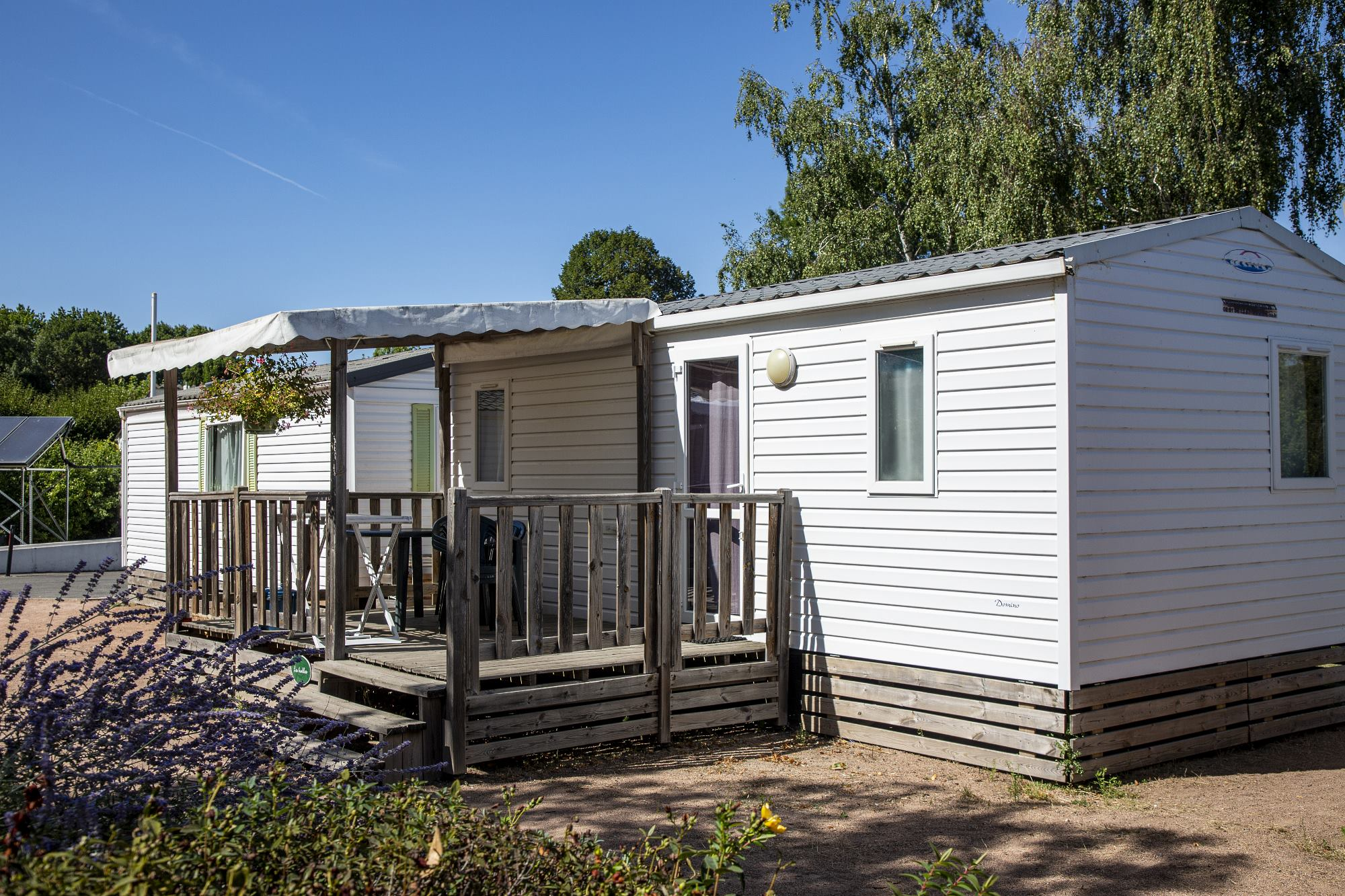 Location - Mobil-Home Domino - Camping des Halles