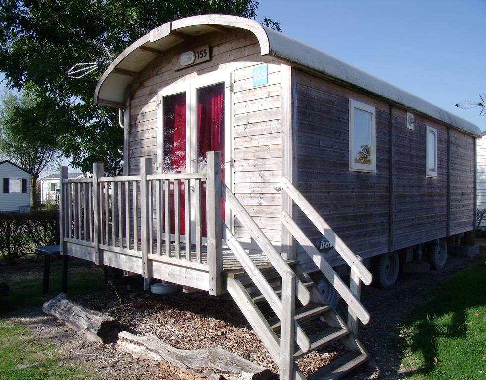 Camping les Peupliers, Merville-Franceville-Plage, Calvados