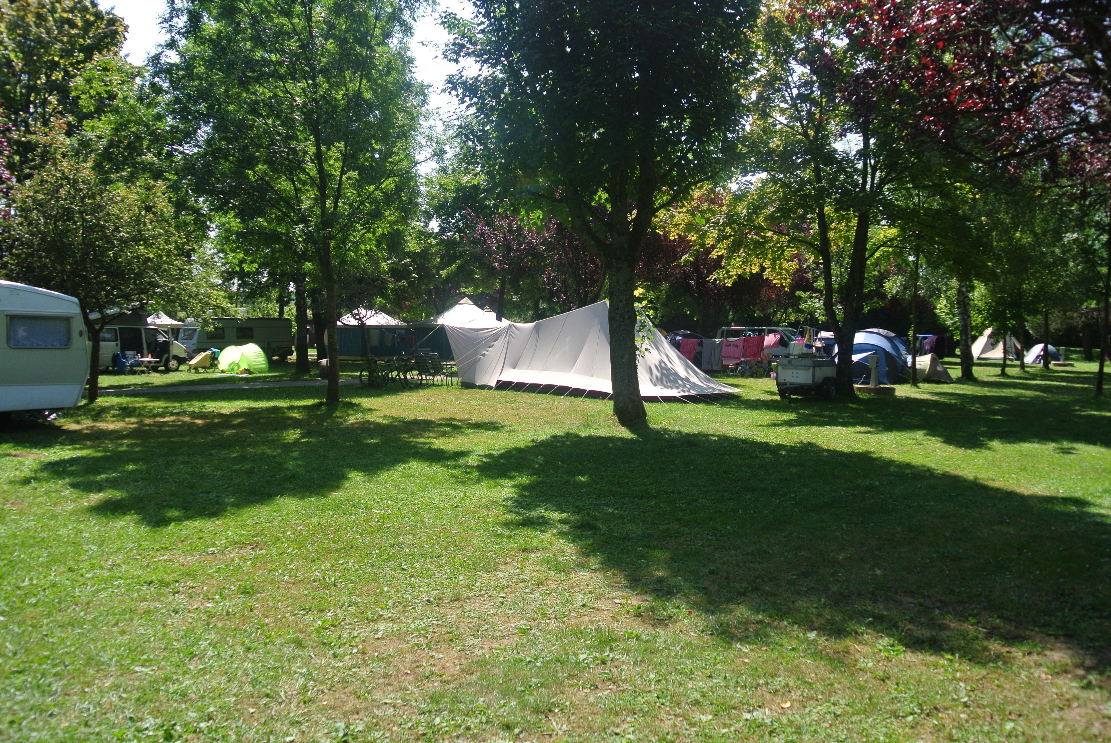 Camping le Val d'Amour, Ounans, Jura