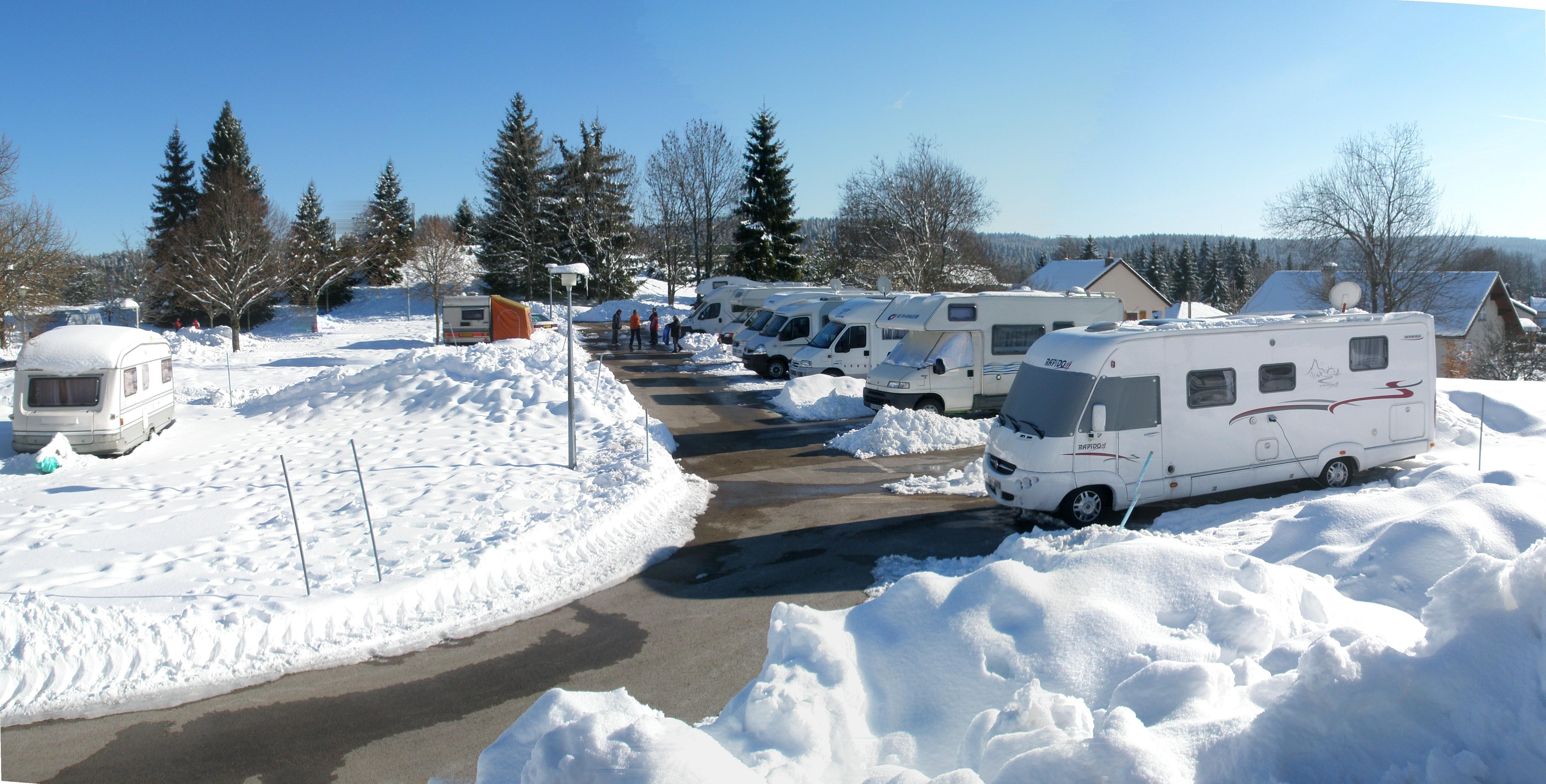 Camping Municipal le Champs de Mars, Saint-Laurent-en-Grandvaux, Jura