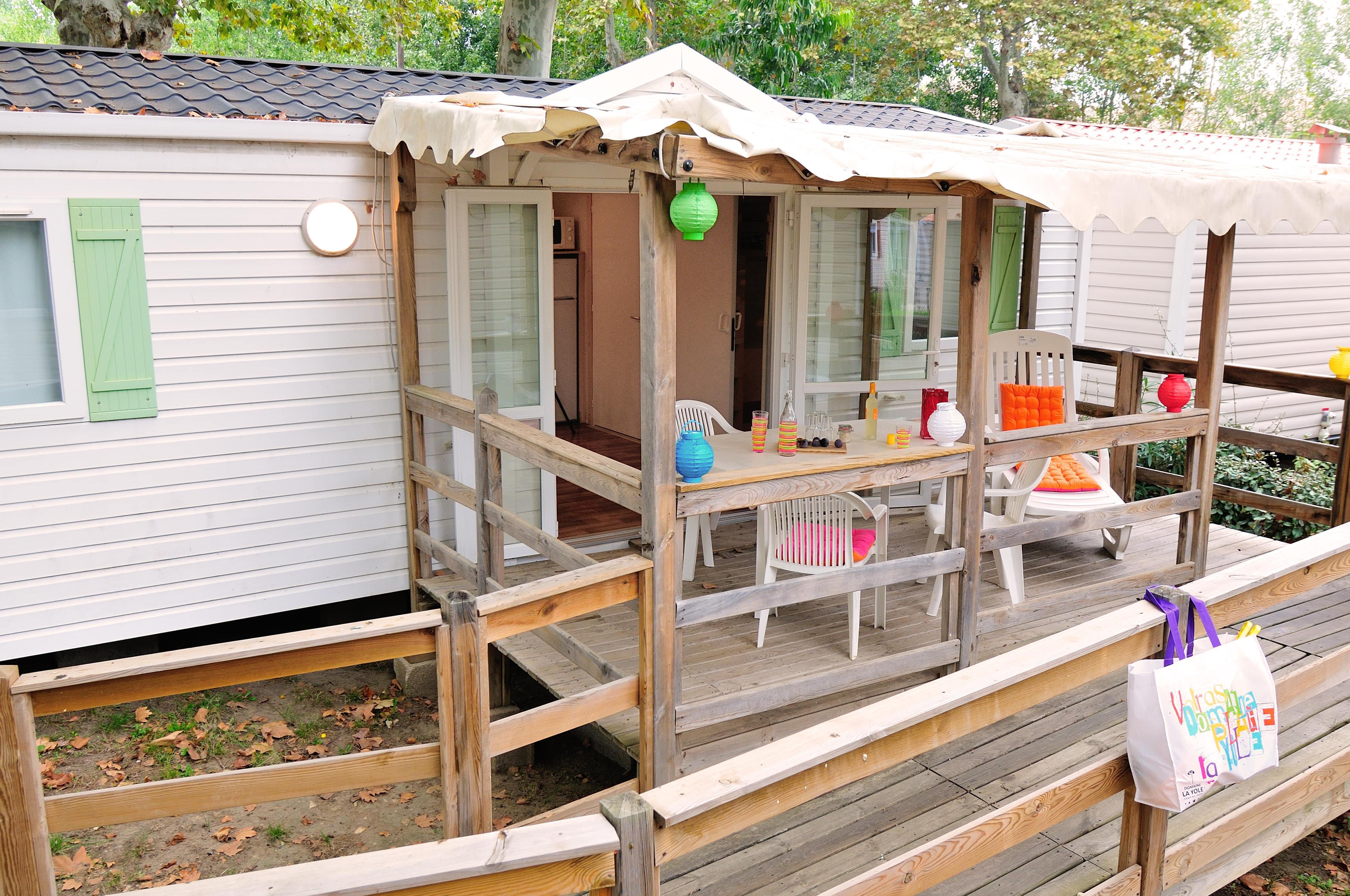 Location - Mobil-Home Pmr Confort** - Domaine La Yole