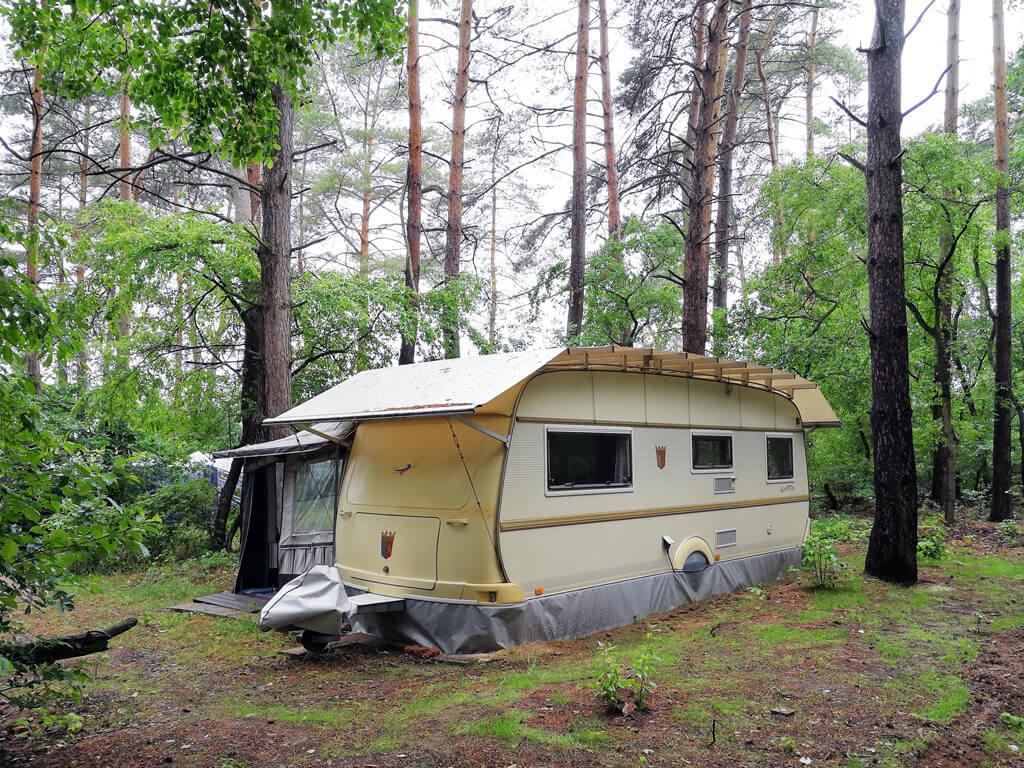 "Location - Caravane ""5 Tabbert Comtesse"" - FKK Campingplatz am Rätzsee"