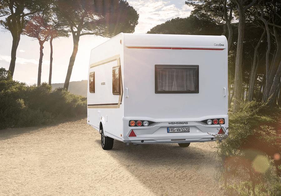 Location - Caravane 3 Weinsberg Caraone - FKK Campingplatz am Rätzsee
