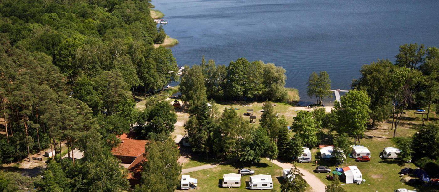 Emplacement - Emplacement Tente / Caravane - Campingplatz am Drewensee