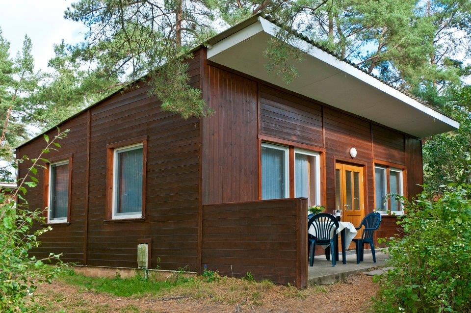Location - Chalet Amsel N° 10-12 - Campingpark Havelberge