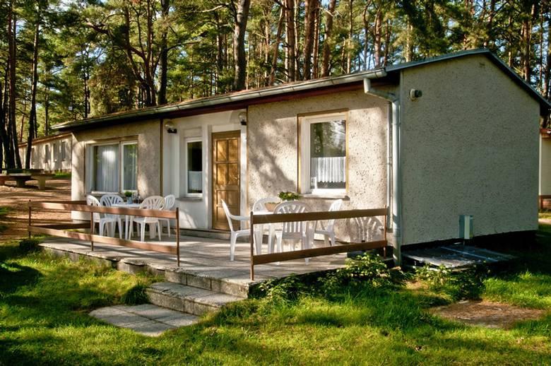 Location - Chalet Zaunkönig - Campingpark Havelberge