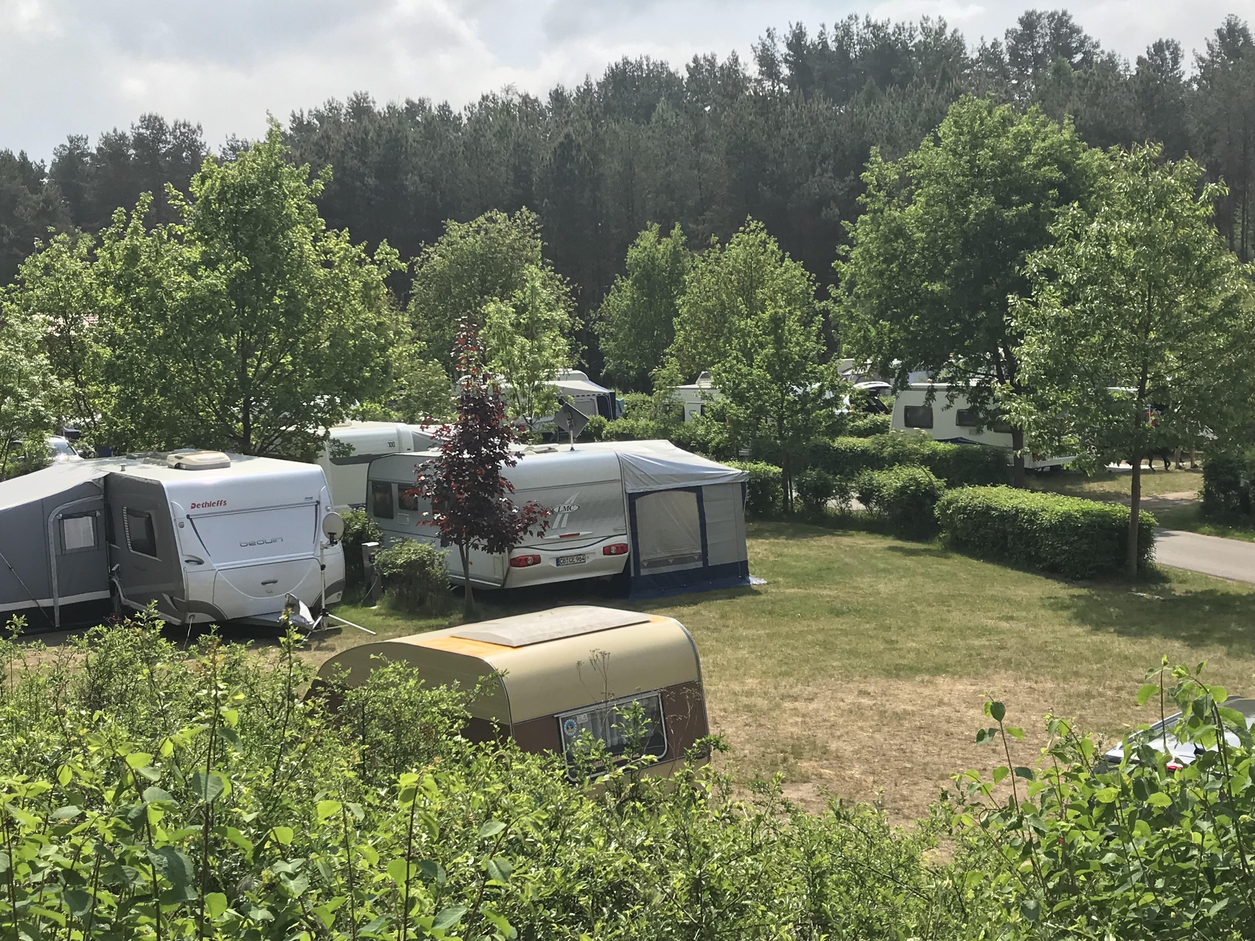 Emplacement - Empl. Camping-Car - 2 Adultes Confort - Campingpark Havelberge