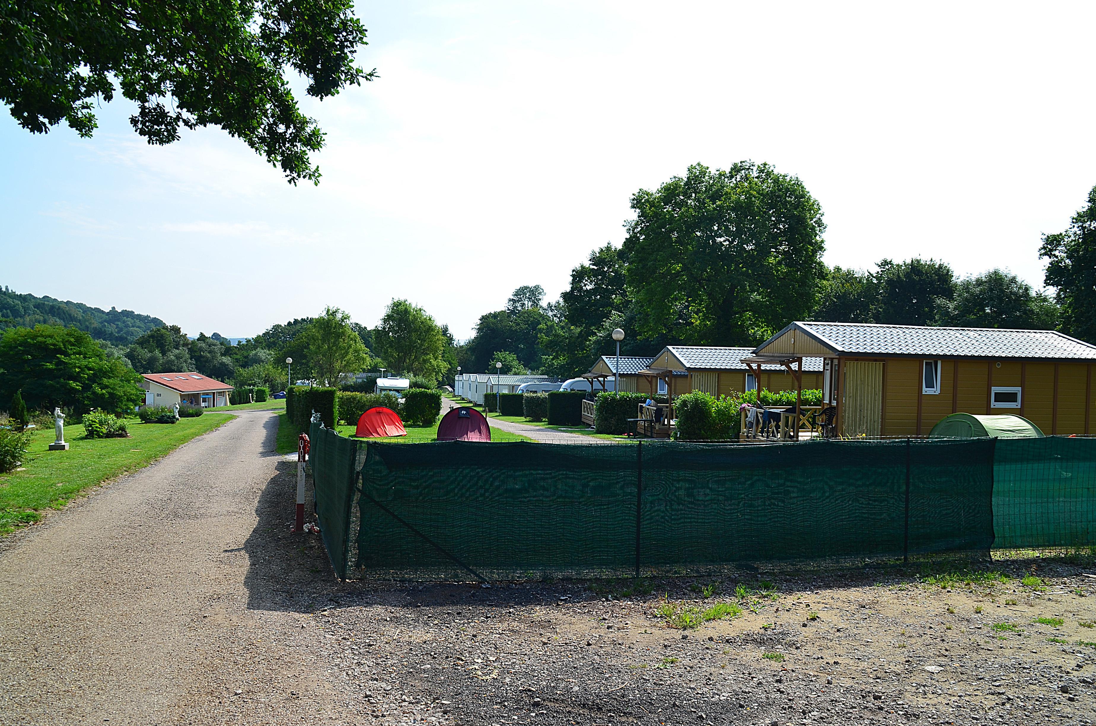 Camping le Croix du Bois Sacker, Burtoncourt, Moselle