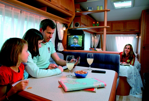 Location - Caravane Cat. 2, - Camping- und Ferienpark Wulfener Hals-Fehmarn